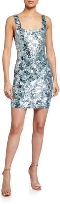Alice + Olivia Addie Embellished Cocktail Dress