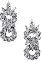 Nina Double Flower Drop Earrings