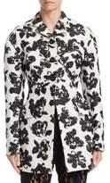 Proenza Schouler Floral Jacquard Coat