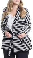 Tart Xena Belted Stripe Knit Jacket