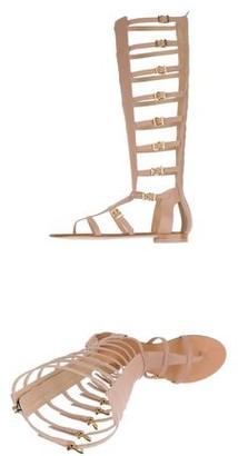 Grey Mer Toe strap sandal