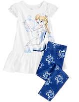 Disney Disney's Frozen 2-Pc. Elsa Tunic & Leggings Set, Little Girls