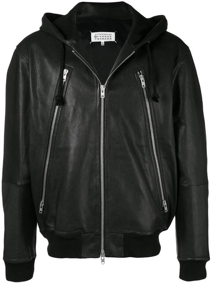 Maison Margiela zipped hoodie