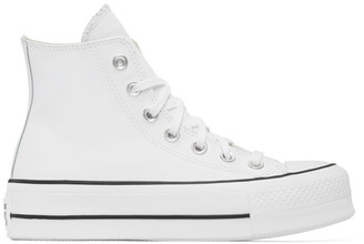 Converse White Chuck Lift High Sneakers