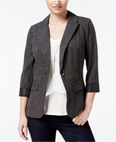 Amy Byer Juniors' Boyfriend Blazer