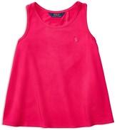 Ralph Lauren Girls' Solid Tank - Sizes S-XL