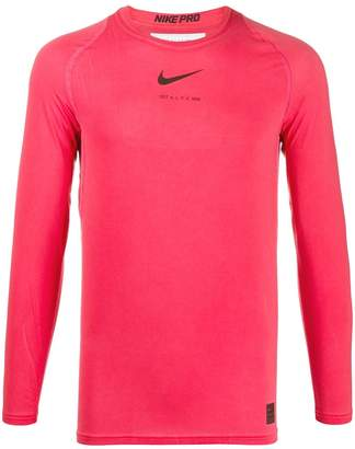 Alyx swoosh long-sleeved T-shirt