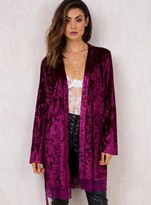 MinkPink Crush On You Gown Plum