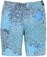 "Reef 18"" Floral Printed Stretch Board Shorts"