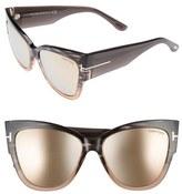 Tom Ford 'Anoushka' 57mm Gradient Sunglasses