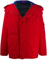 Mr & Mrs Italy Cortina mini parka coat