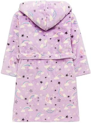 Very Girls Rainbow Robe - Purple