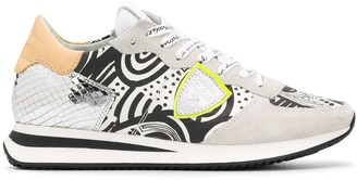 Tropez graphic-print sneakers