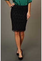 Hale Bob Lacy Lady Skirt (Black) - Apparel