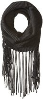 Michael Stars Women's Fringed Out Cowl Scarf