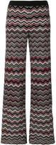 Missoni zigzag flared trousers