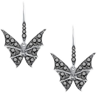 Stephen Webster White Gold and Diamond Fly By Night Pave Earrings