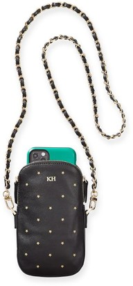 Mark And Graham Chain Strap Leather Phone Crossbody