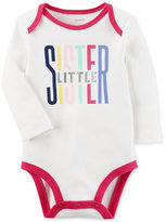 Carter's Little Sister Cotton Bodysuit, Baby Girls (0-24 months)