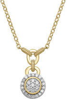 Lord & Taylor Diamond And 14K Yellow Gold Necklace