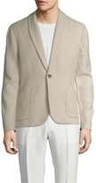 James Perse Cotton Shawl Collar Blazer