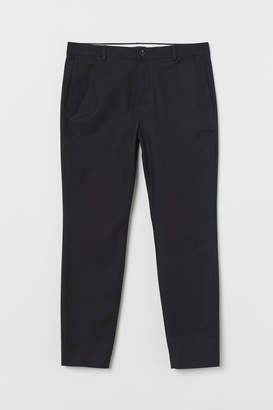 H&M Skinny Fit Suit Pants - Black