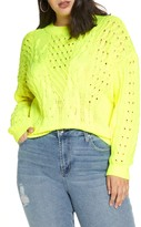 BP Spring Cable Sweater