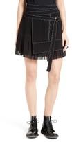 Women's Cinq A Sept Misha Pleated Wrap Style Skirt