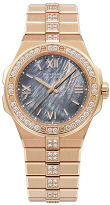 Chopard Rose Gold and Diamond Alpine Eagle Small Watch 36mm