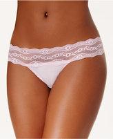 B.Tempt'd b.adorable Lace-Waistband Thong 933182