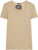 Nlst Cotton-blend jersey T-shirt