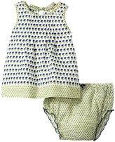 Pink Chicken Jaipur 2 Piece Set (Baby) - Estate Blue Lily Print - 12-18 Months