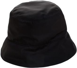 Prada Black Nylon Classic Bucket Hat M