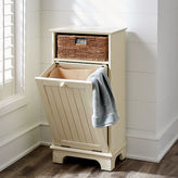 Pier 1 Imports Holtom Antique White Hamper