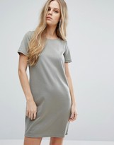 Vila Scoop Neck T-Shirt Dress