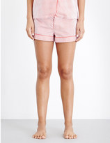 Bodas Verbier striped cotton pyjama shorts