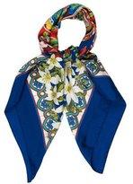 Dolce & Gabbana Silk Printed Scarf w/ Tags