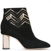 Nicholas Kirkwood 85mm 'Prism' ankle boots