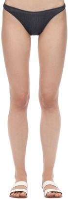 Solid & Striped Vanessa Denim Bikini Bottoms