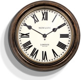 Newgate Clocks - King's Cross Station Clock - Dark Wood - Large