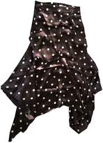 Ganni Brown Viscose Skirts