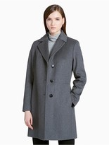 Calvin Klein Wool Blend Overcoat