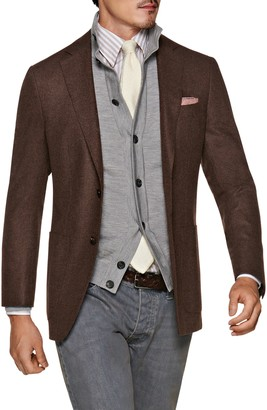 Suitsupply Havana Slim Fit Solid Wool Sport Coat