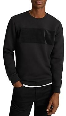 Reiss Arty Contrast Panel Sweater