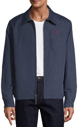 U.S. Polo Assn. Microfiber Midweight Softshell Jacket