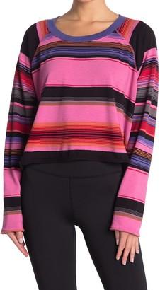 Free People Baja Striped Long Sleeve T-Shirt