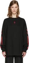 Marcelo Burlon County of Milan Black Platon T-shirt