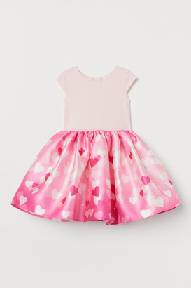 H&M Flared Dress - Pink