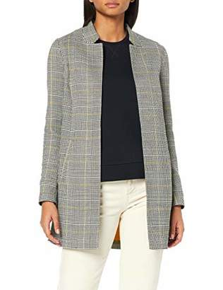 Only Women's onlJESS Check L/S Long Blazer TLR Jacket,10 (Size: S)
