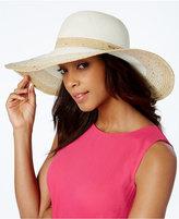 Calvin Klein Ombré Stripe Sequin Sun Hat